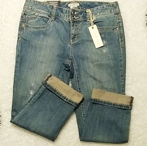 NWT Tommy Hilfiger Spirit Cropped Jeans